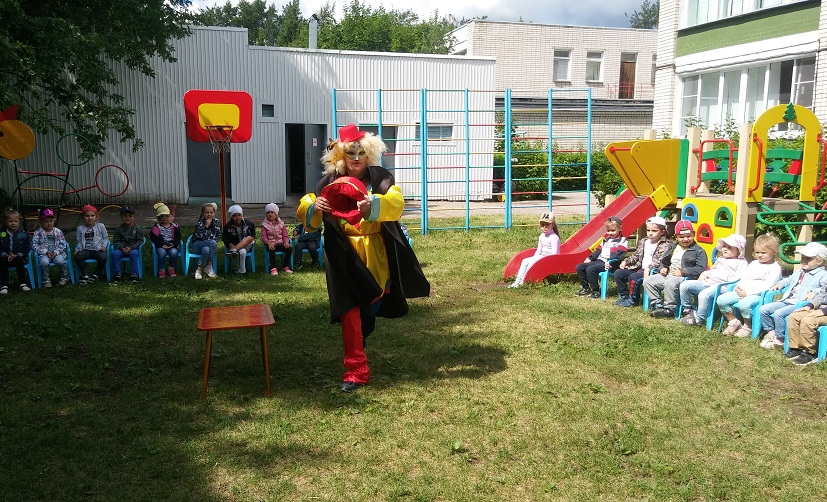 Развлечение «На арене цирка»