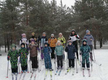 Акция  «Все на одной лыжне»