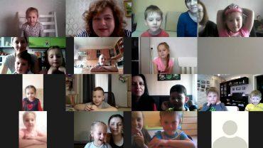 Онлайн-занятие по математике в старшей группе
