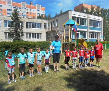 Чемпионат детского сада по футболу